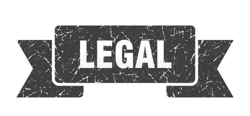 wettelijk lint vector illustratie