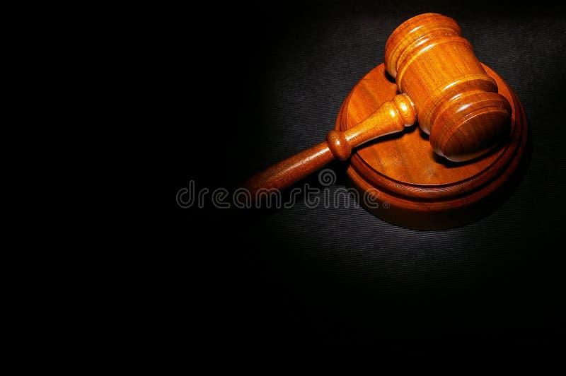 Wettelijke hamer stock afbeeldingen