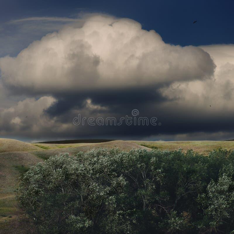 Wetter ändert lizenzfreie stockfotografie