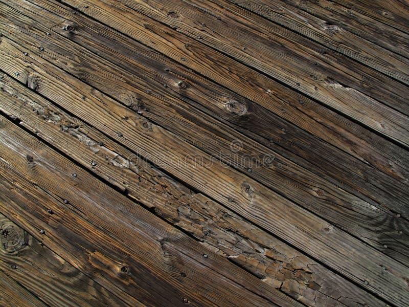 Wetter gealtertes Holz lizenzfreies stockfoto