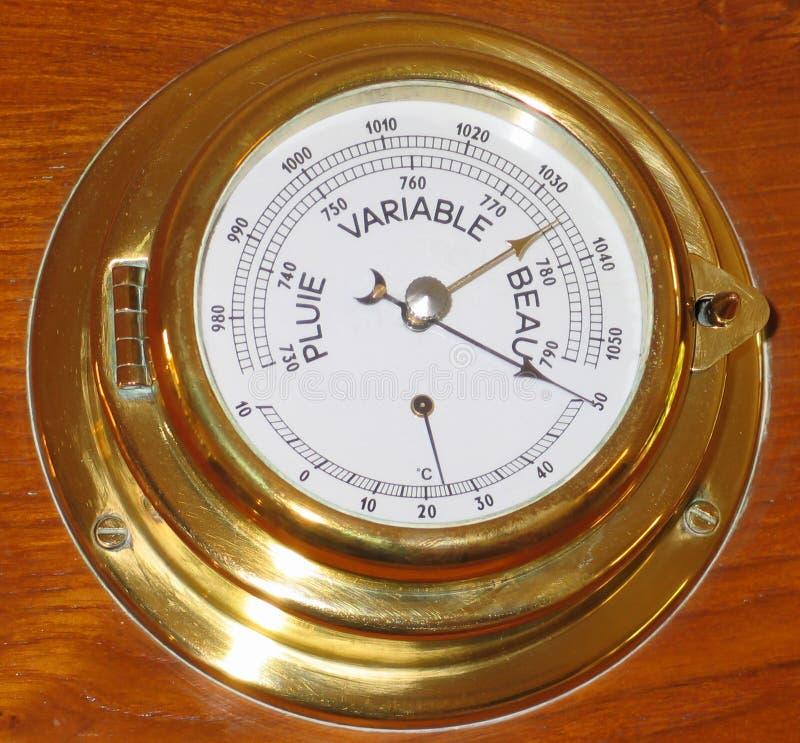 Download Wetterinstrument stockbild. Bild von golden, meßinstrument - 35955