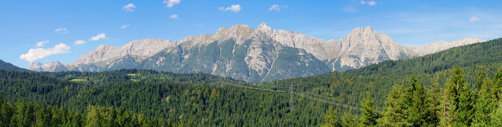 Download Wettersteingebirge Alps stock image. Image of bavaria - 23875045