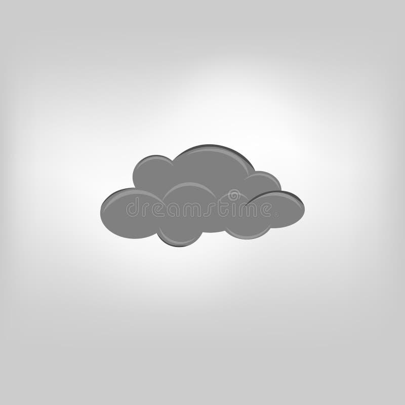 Wetterwolke vektor abbildung