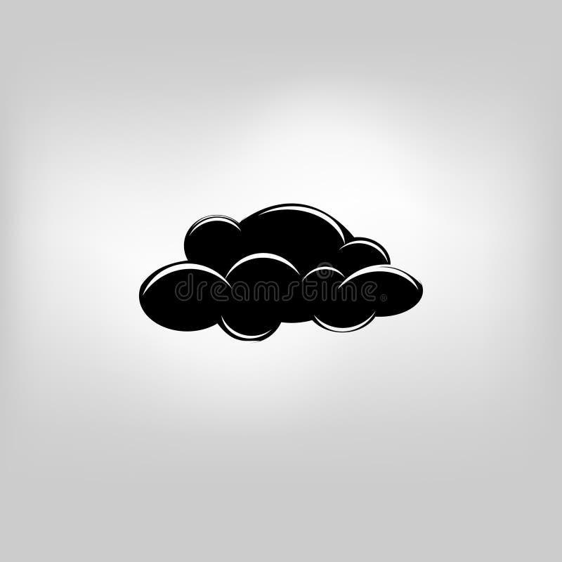 Wetterwolke stock abbildung