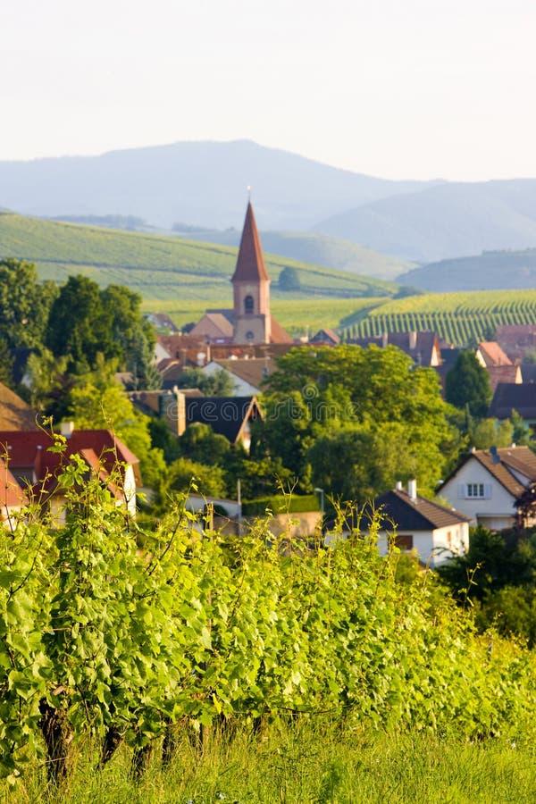 Wettolsheim, Alsace, France photographie stock libre de droits