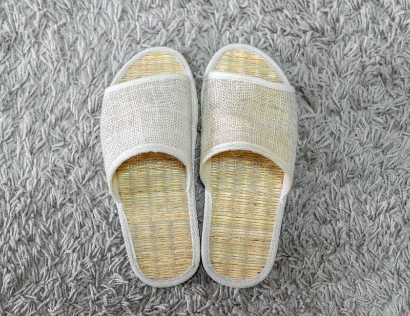 Wevende schoenen stock afbeeldingen