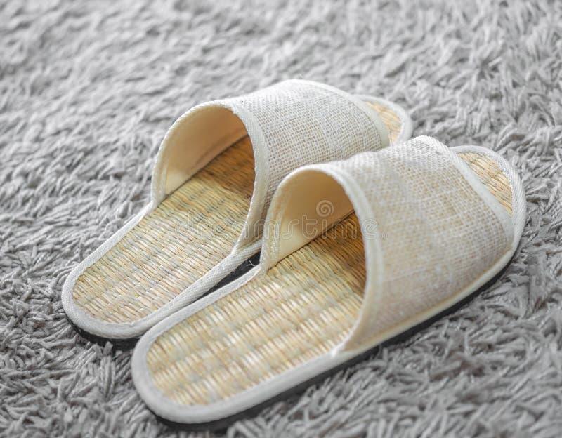 Wevende schoenen royalty-vrije stock foto