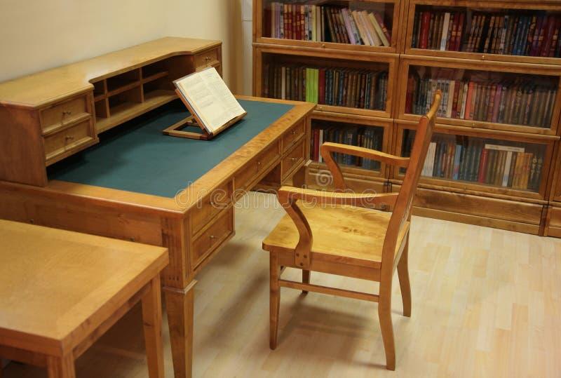 wewnętrzna biblioteka obrazy royalty free
