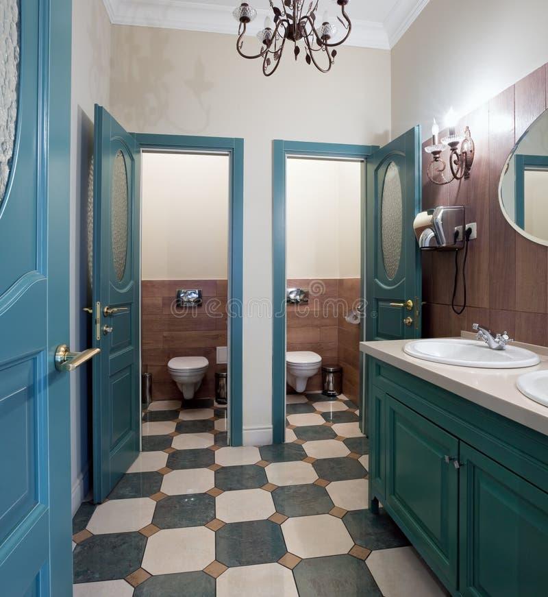 wewnętrzna jawna toaleta fotografia royalty free
