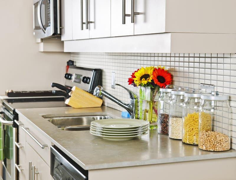 wewnętrzna kuchnia obrazy stock