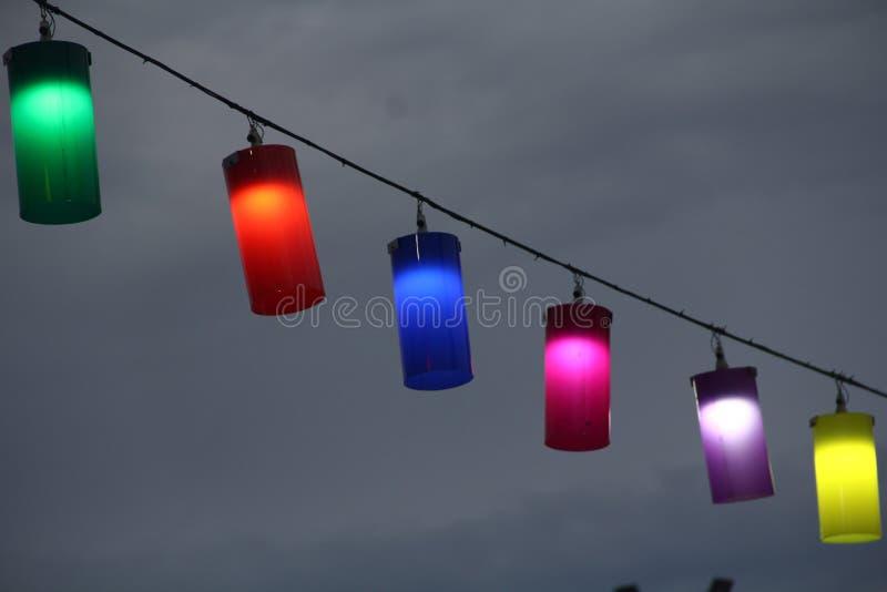 Wewnętrzna nowożytna lampa zdjęcie stock