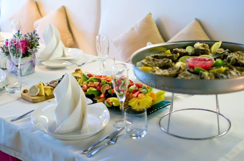 wewnętrzna nowożytna restauracja zdjęcie royalty free