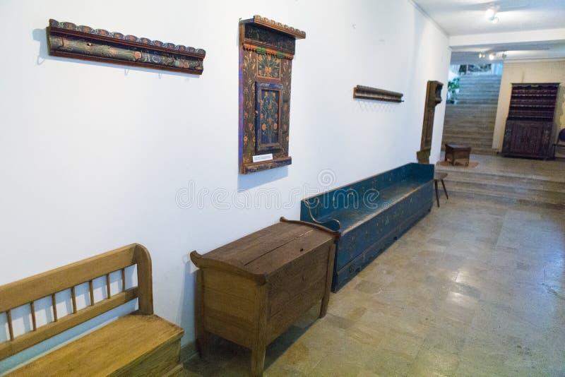 Wewnętrzna scena od Zrzeszeniowego muzeum zdjęcia stock