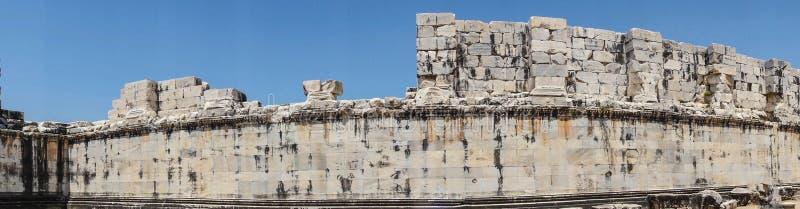 Wewnętrzne ashlar ściany obraz stock