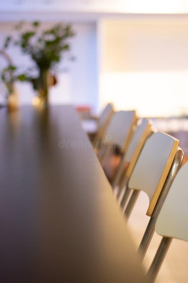 Wewnętrznego projekta krzesła zdjęcie stock