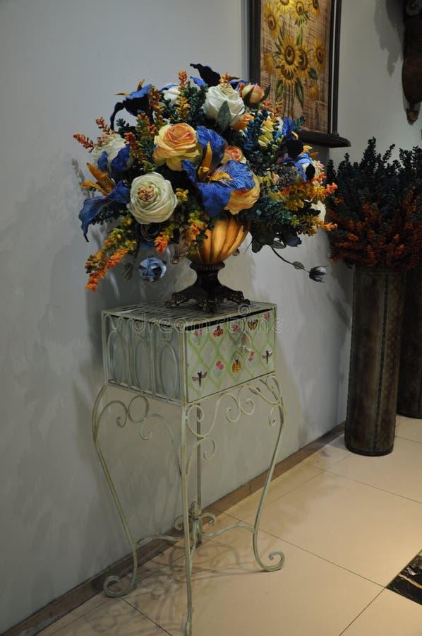Wewnętrznej dekoraci fotografia, obraz, życie, etc, wciąż, piękne kwiaty obraz stock
