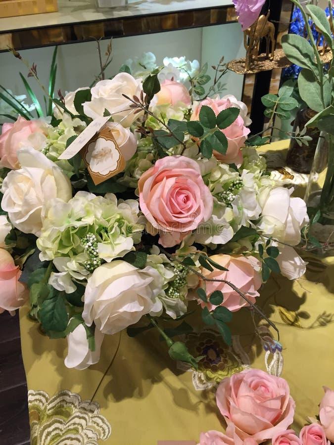 Wewnętrznej dekoraci fotografia, obraz, życie, etc, wciąż, piękne kwiaty obrazy stock