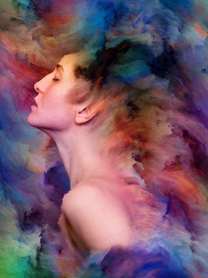 Wewnętrzny życie emocje ilustracji