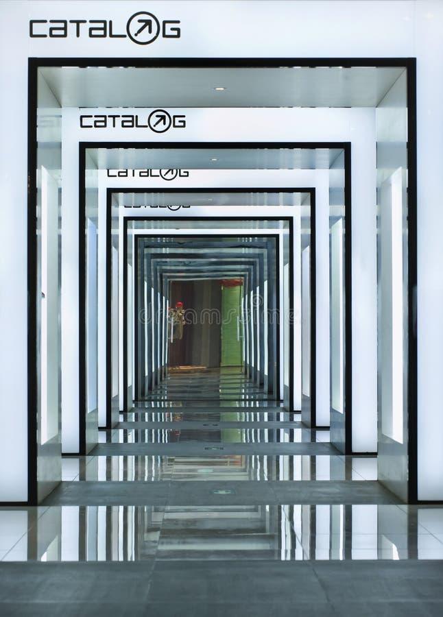 Wewnętrzny katalog mody ujście, Pekin, Chiny zdjęcia stock