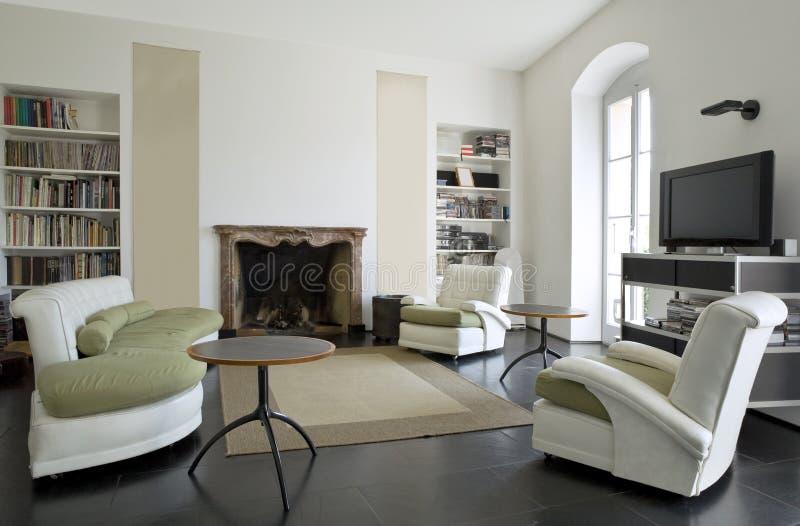 wewnętrzny loft obrazy royalty free