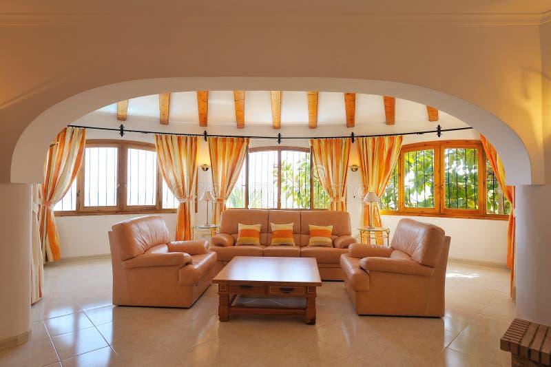 wewnętrzny luksusu w domu fotografia royalty free