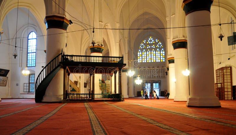 wewnętrzny meczet zdjęcia stock