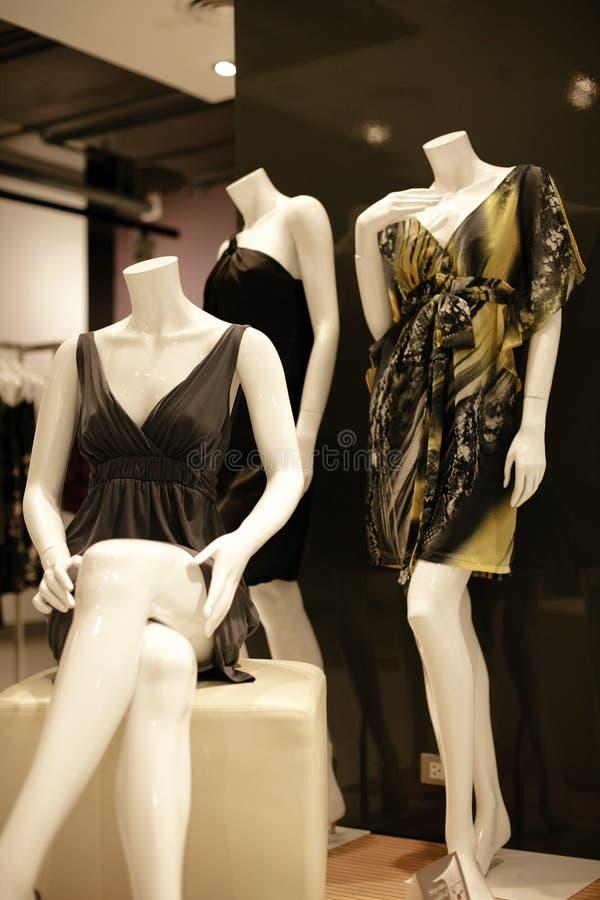 wewnętrzny moda sklep fotografia royalty free