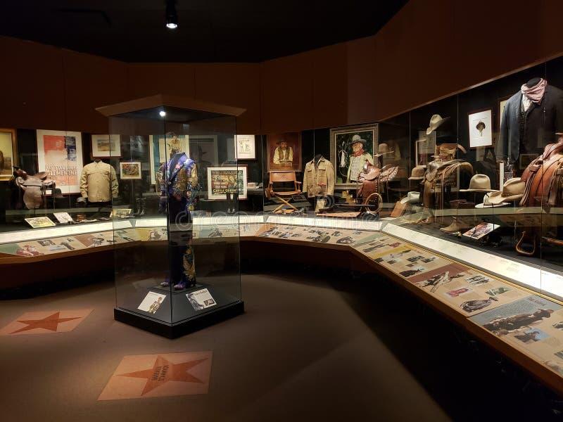 Wewnętrzny Oklahoma Krajowy kowboj & westernu dziedzictwa muzeum obraz royalty free
