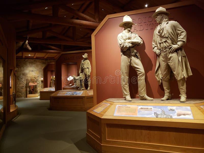 Wewnętrzny Oklahoma Krajowy kowboj & westernu dziedzictwa muzeum zdjęcie stock