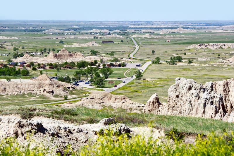 Wewnętrzny Południowy Dakota usa zdjęcia royalty free