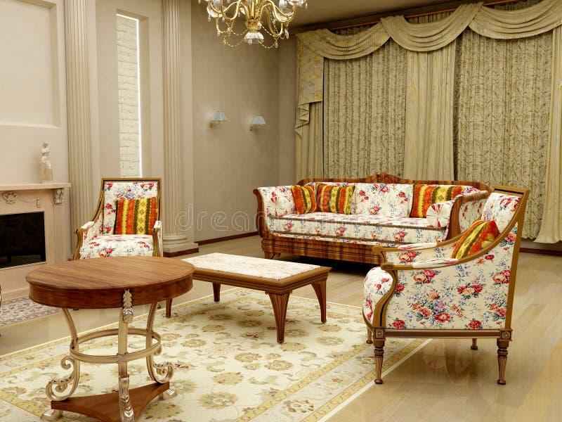 wewnętrzny pokój obrazy royalty free