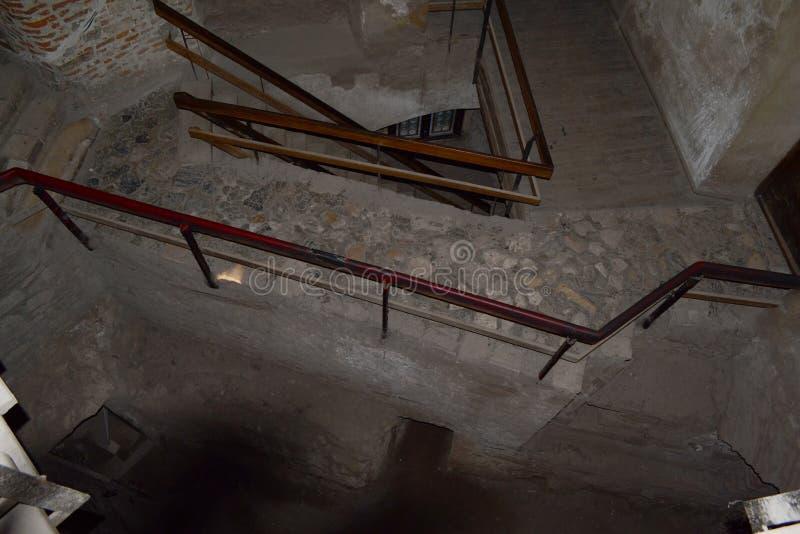 Wewnętrzny schody zdjęcie royalty free