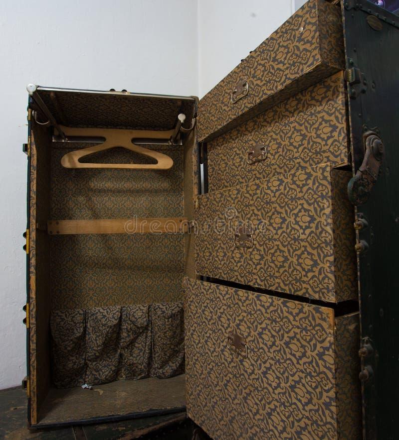 Wewnętrzny streamer bagażnik obrazy royalty free