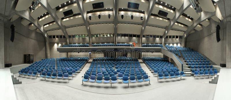 wewnętrzny teatr zdjęcie stock