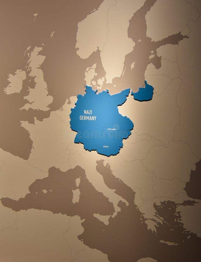 Wewnętrzny widok holokausta Pamiątkowy muzeum w washington dc, usa ilustracja wektor