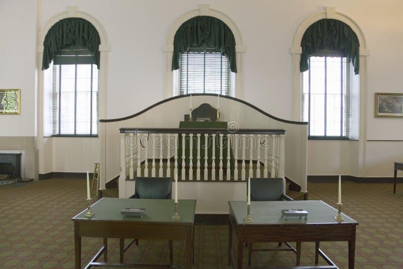 Wewnętrzny widok Kongresowy Hall, obraz stock