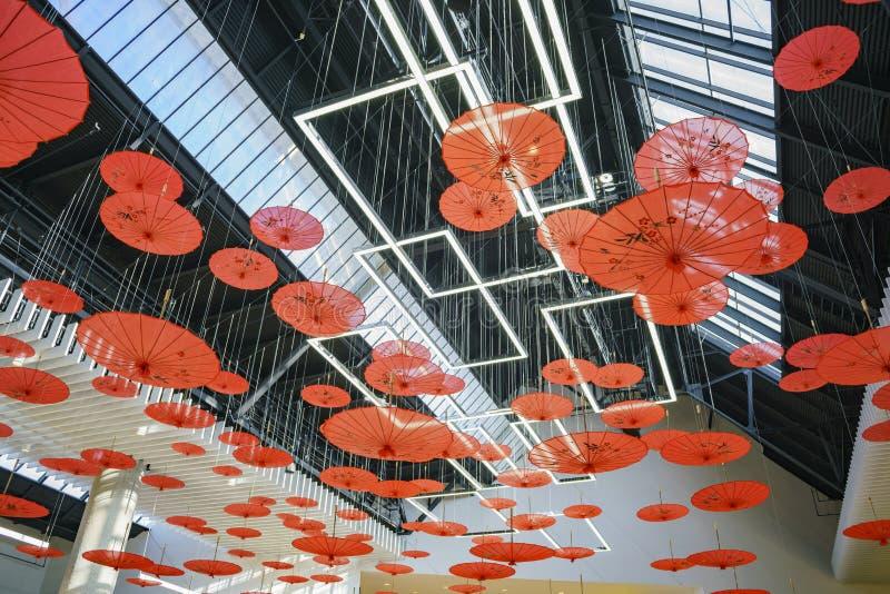 Wewnętrzny widok Snata Anita centrum handlowe fotografia royalty free
