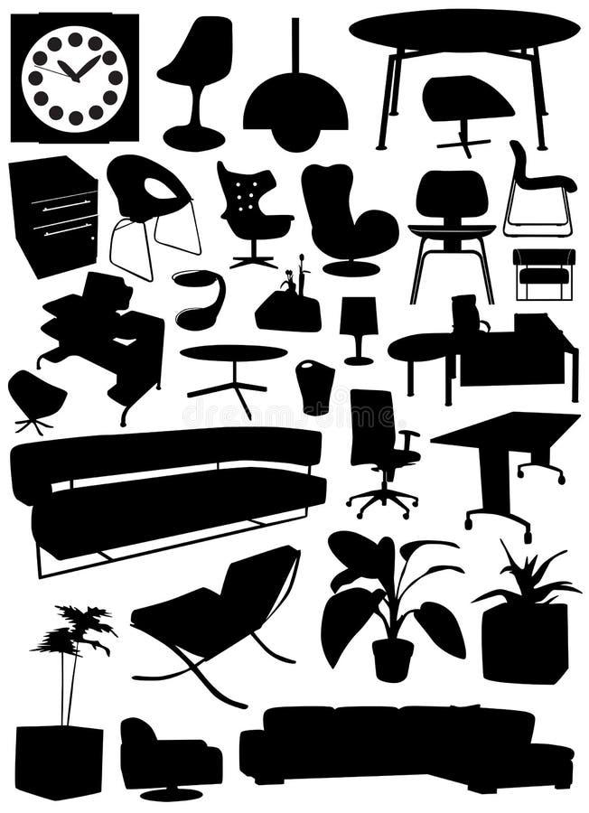 wewnętrznych obiektów projektu ilustracji