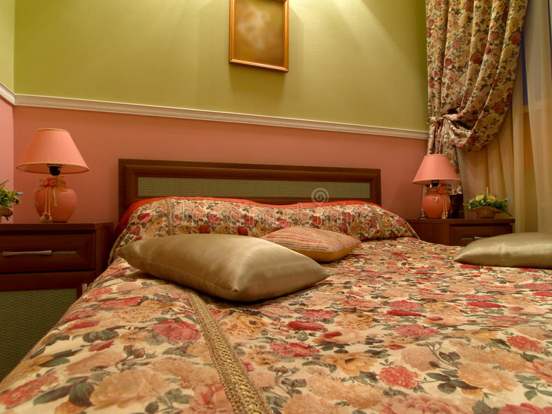 Download Wewnętrzny Romantyczny Pokój Obraz Stock - Obraz złożonej z podłoga, wnętrze: 13325125