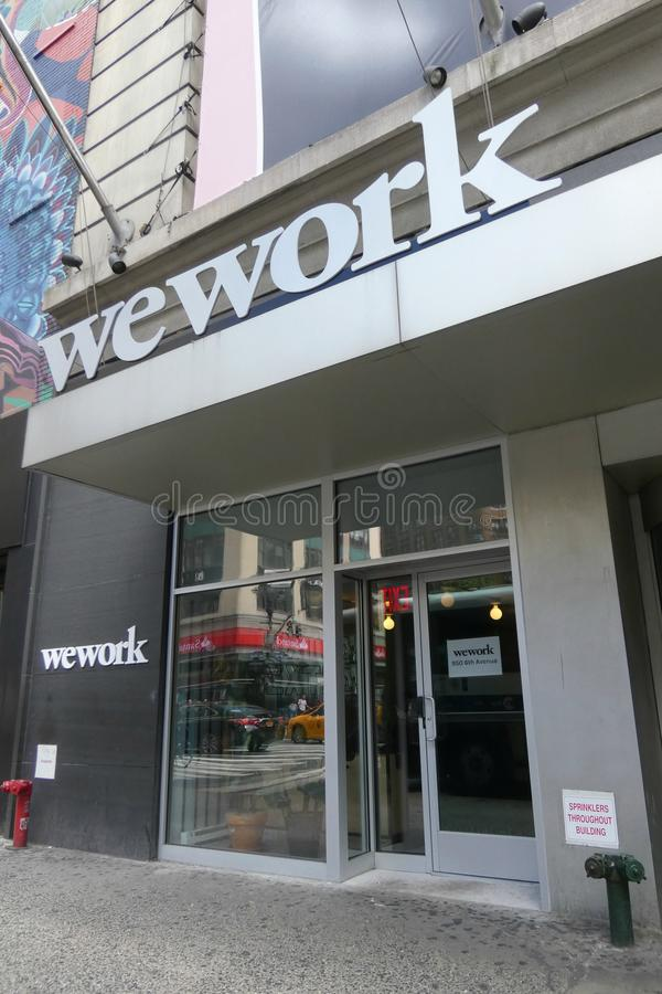 WeWork lizenzfreies stockbild