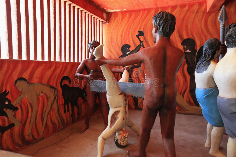 Wewurukannala Vihara cerca de Dikwella, bíblico imagen de archivo libre de regalías