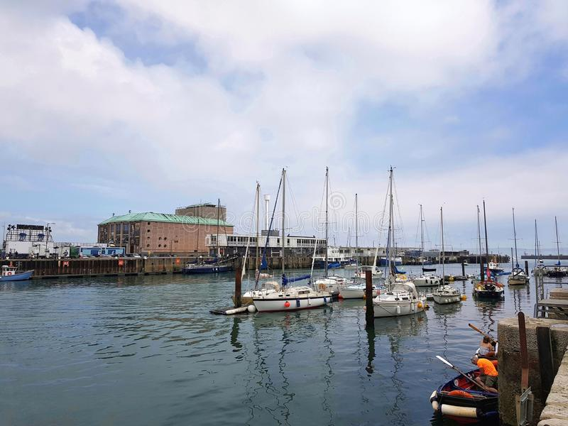 Weymouth harbour royalty free stock images