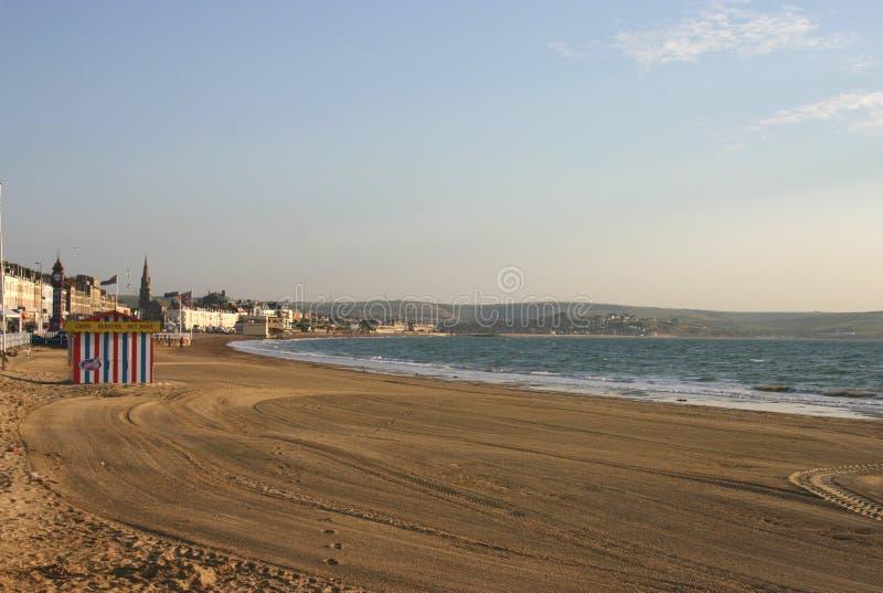 weymouth nadbrzeża fotografia royalty free