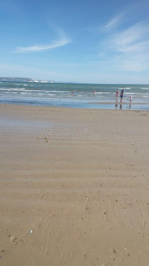 Weymouth plaża zdjęcie royalty free
