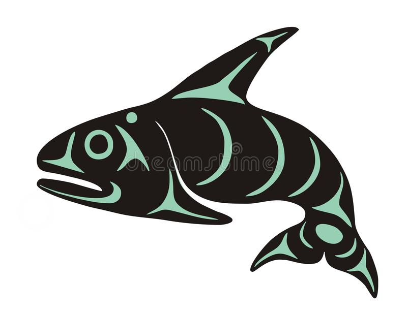 Whale royalty free illustration