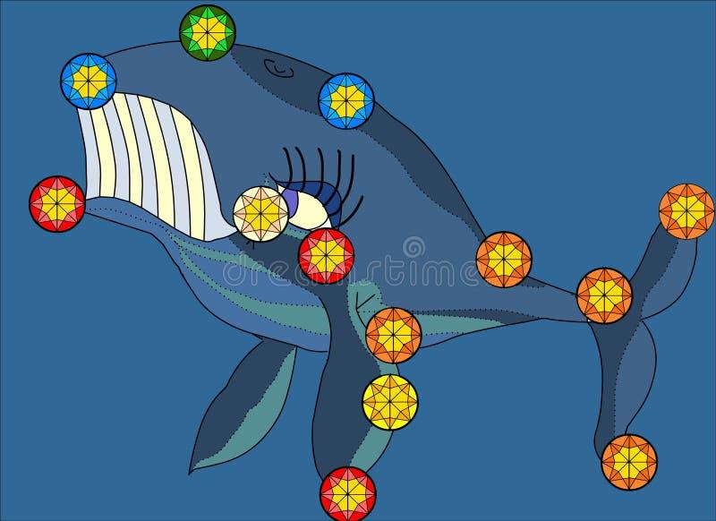 Download Whale Constellation Illustration Stock Illustration - Illustration: 2910603