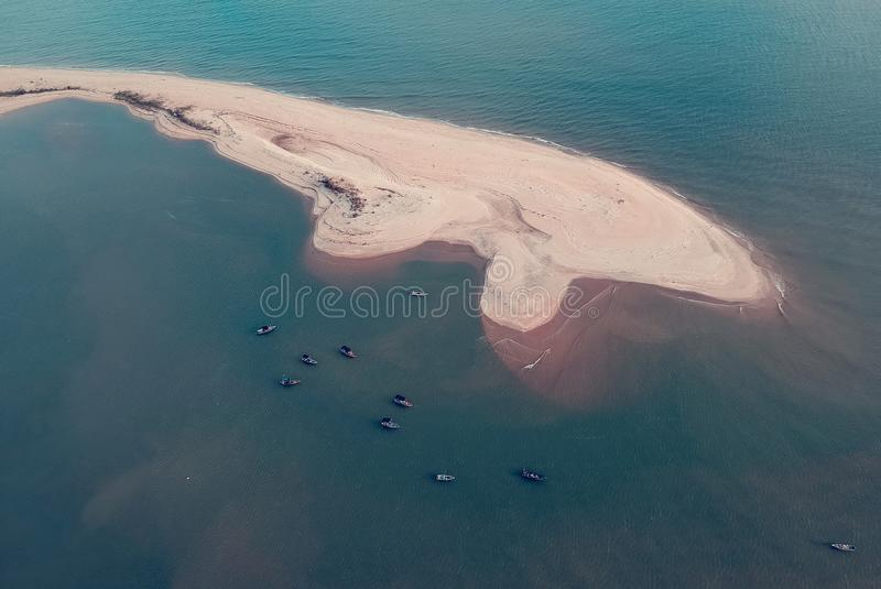 Whale Island Bird Eye Photography royalty free stock images