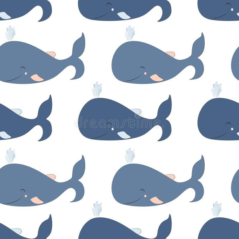 2018 02 02_whale_P illustration libre de droits
