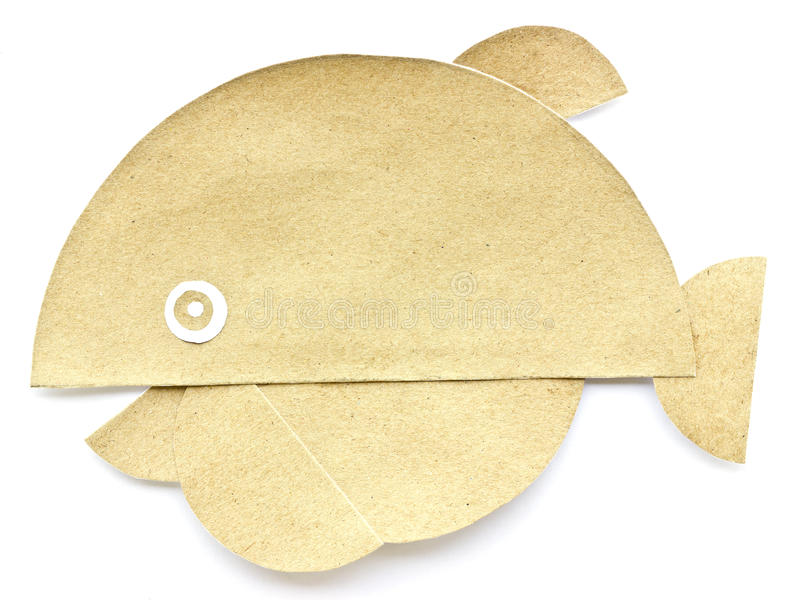 Whale recycled paper . stock image