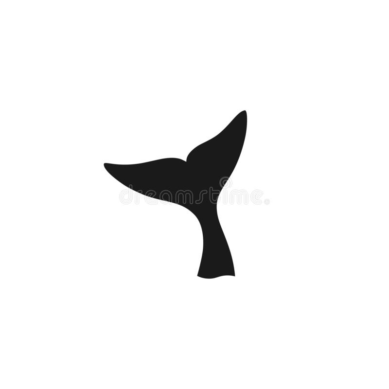 Free Whale Tail Graphic Icon Royalty Free Stock Image - 160542896